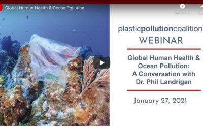 Plastic Pollution Coalition Webinar